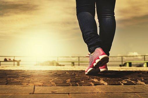 ejercicio saludable corriendo