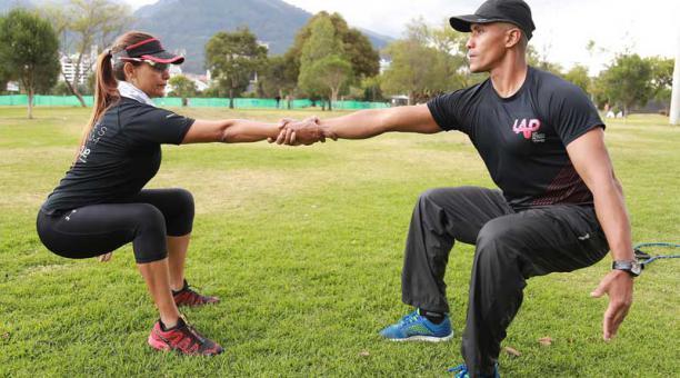 Trabajo motivado con el entrenador