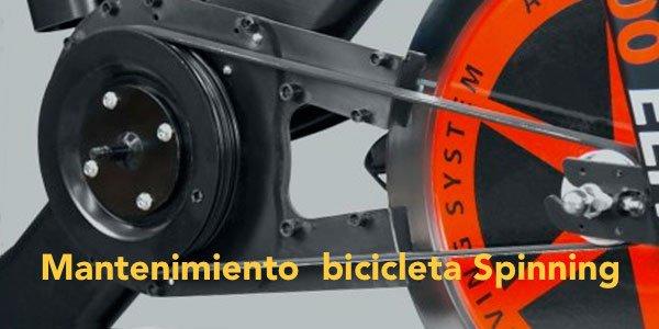 MANTENIMIENTO BICICLETA DE SPINNING