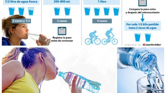 hidratación-ejercicio