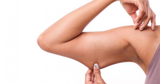 6 Ejercicios para adelgazar tus brazos en unas pocas semanas