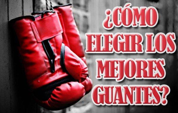 mejores guantes de boxeo