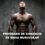 Programa para Ganar masa Muscular