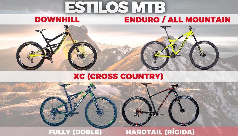 elegir-una -bicicleta-de-montaña