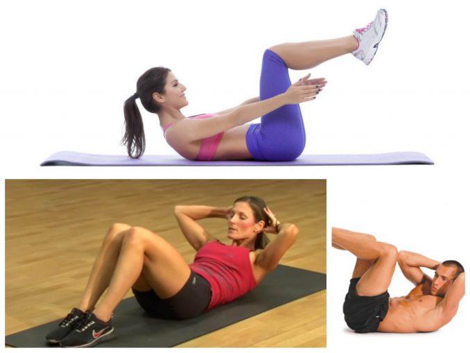 Crunch de Abdominales, un ejercicio TOP para abdominales