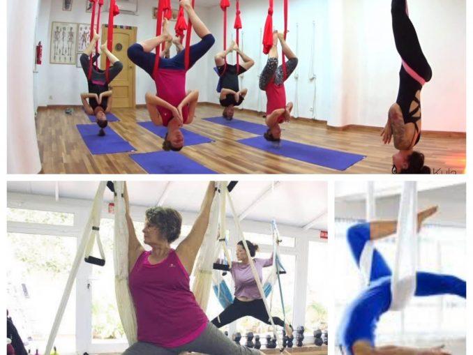Yoga Aereo: Mejor que el Yoga Tradicional?