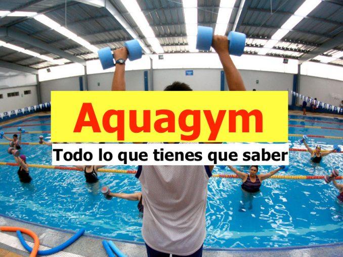 Aquagym, Todo lo que tienes que saber
