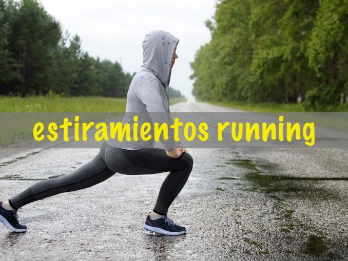Estiramientos en el running