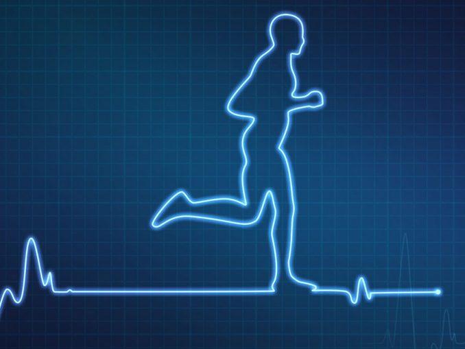 Frecuencia cardíaca al correr