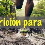 Nutricion para trail