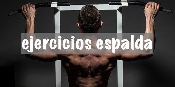 Guia de los principales EJERCICIOS DE ESPALDA
