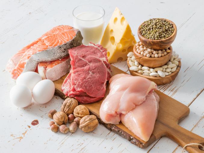 Proteinas en alimentos