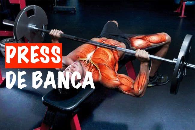 PRESS DE BANCA. Como Hacerlo Correctamente