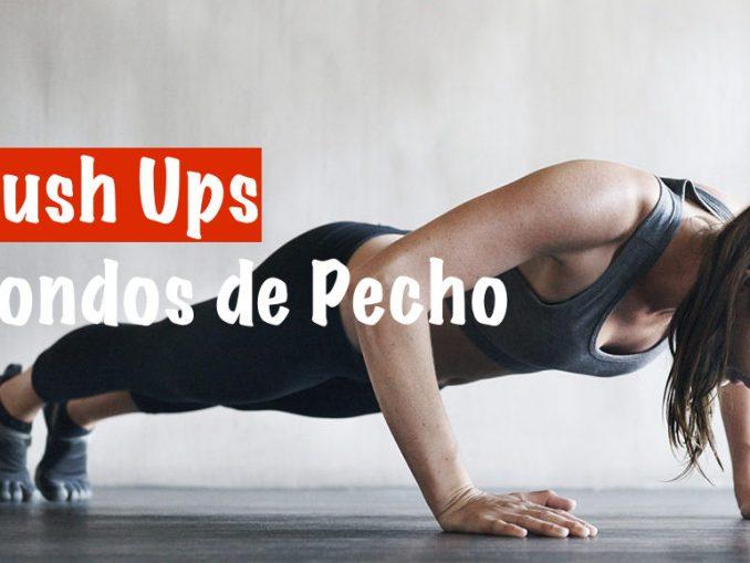 Push ups, un gran ejercicio de Peso corporal
