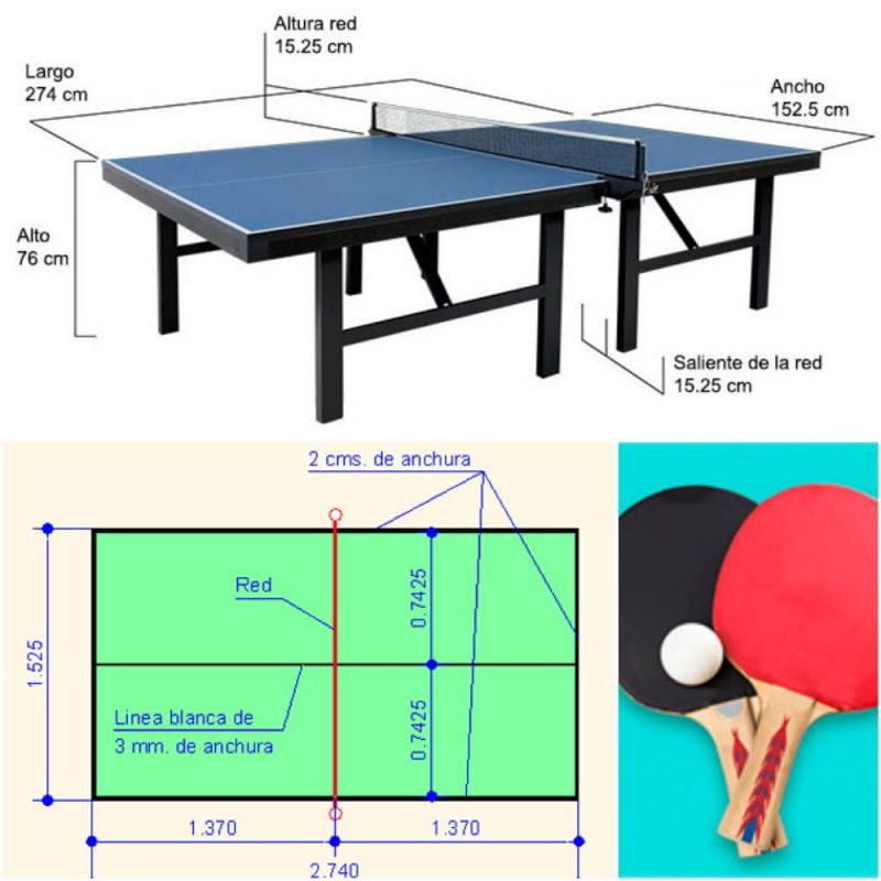 mesa-tenis-mesa-dimensiones