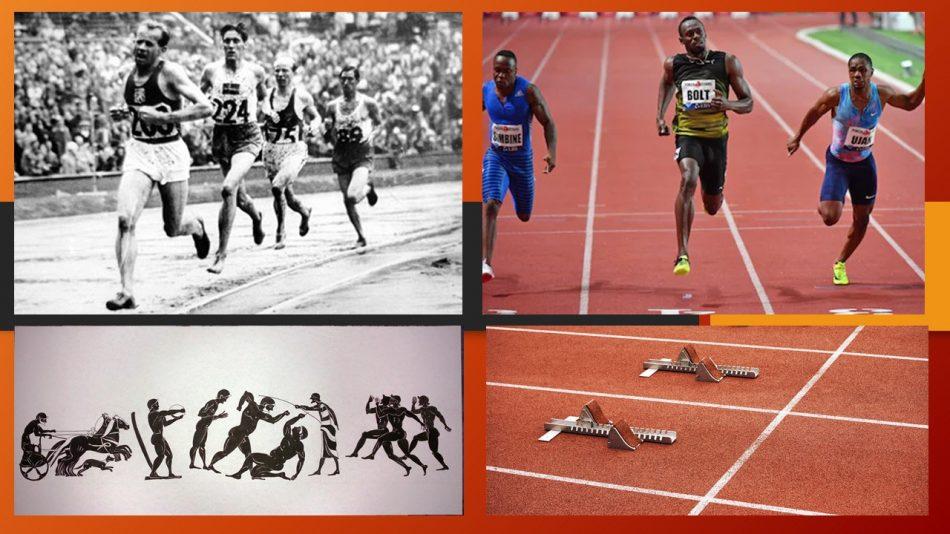 imagen atletismo actual y atletismo moderno