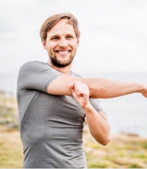 brazo por delante para triceps