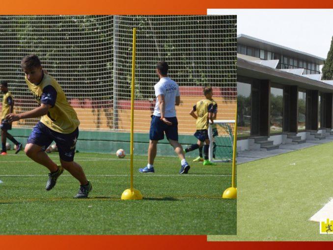 Tecnología utilizada en campamentos de fútbol de Alto rendimiento