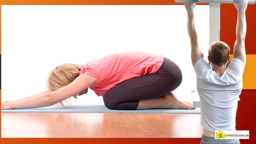 ejercicios de estiramiento para la espalda