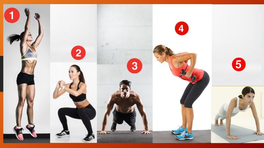 ejercicios de fuerza en casa