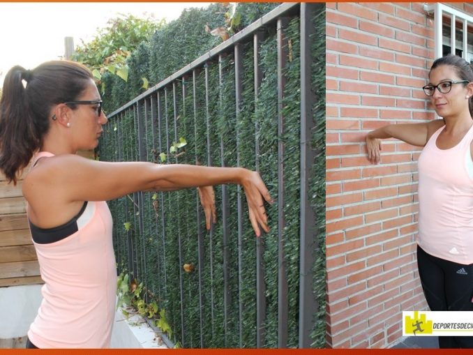 Estiramiento de biceps