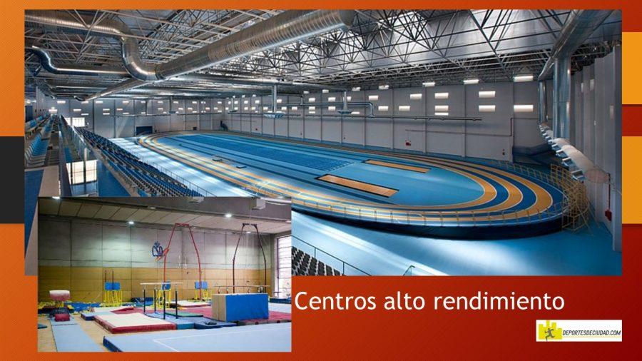 imagen de centros de alto rendimiento