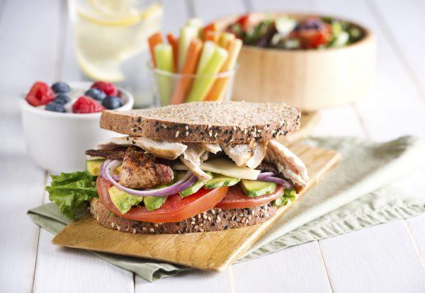 sandwich para comer antes del ejercicio