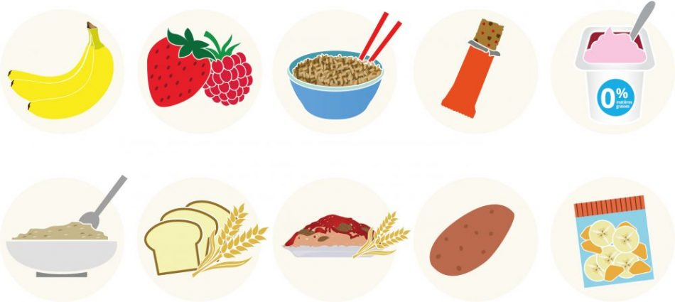 tipologias de comidas iconos