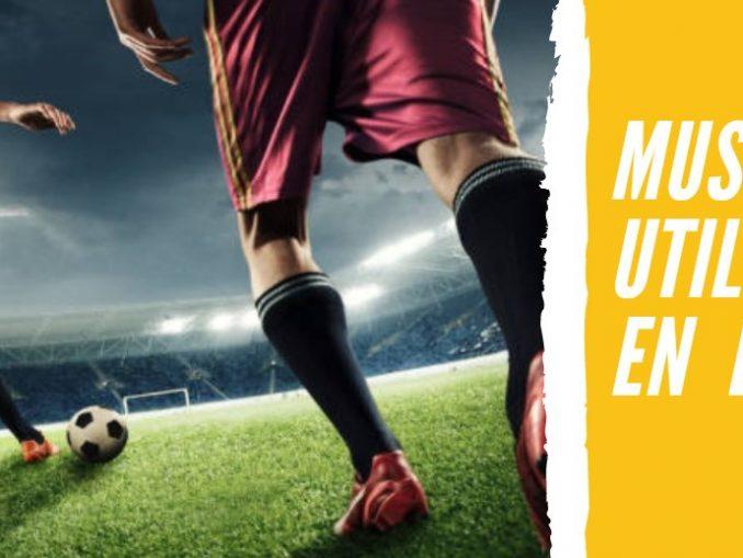 Músculos que Utilizamos en el Fútbol