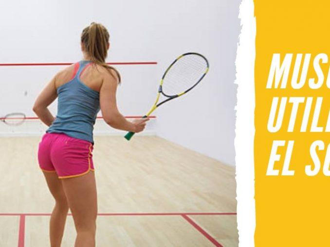 Músculos que Utilizamos en el Squash