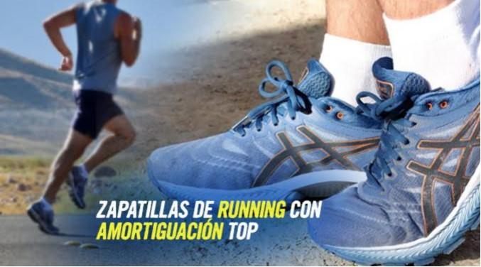 zapatillas running con amortiguacion