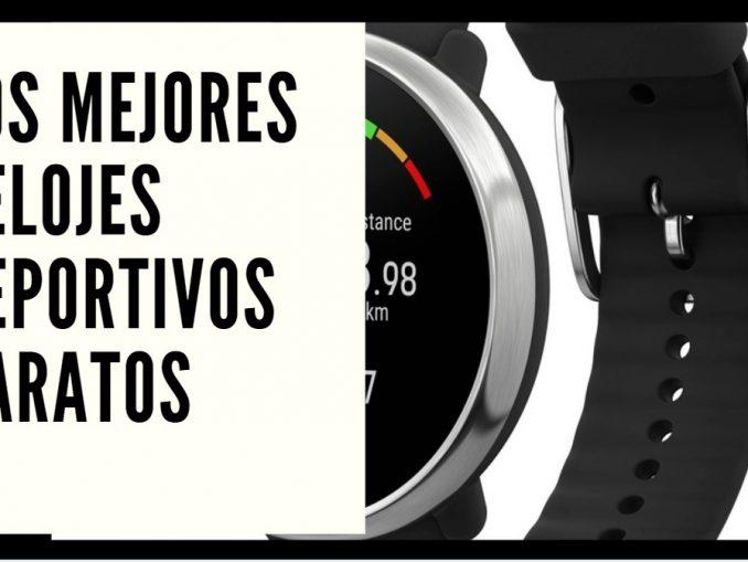 Te recomendamos los mejores relojes deportivos baratos