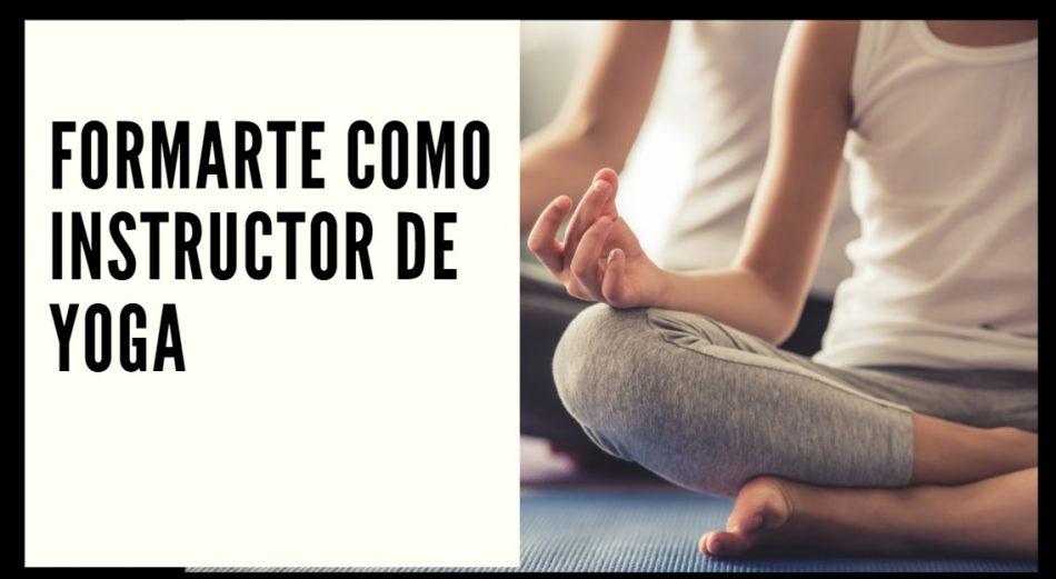 formarte como instructor de yoga