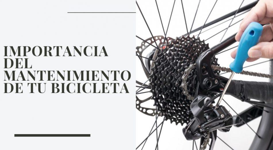 Importancia del mantenimiento de tu bicicleta