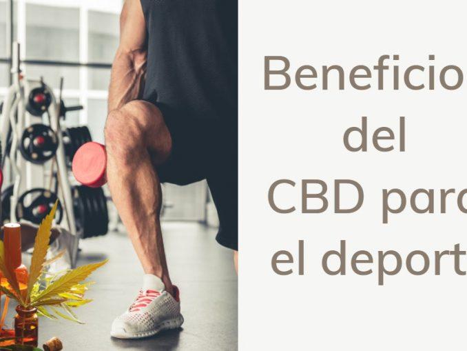 Beneficios del CBD para el deporte
